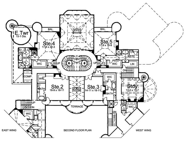2nd Floor Plan image of Balmoral