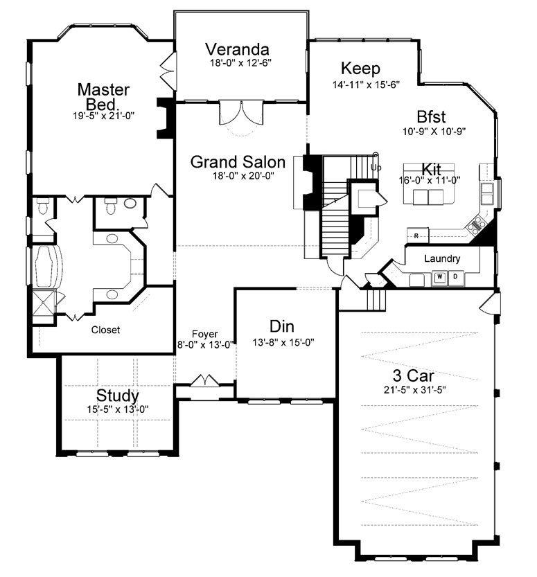 Westdrake place 8091 4 bedrooms and 3 baths the house for Floor plan websites