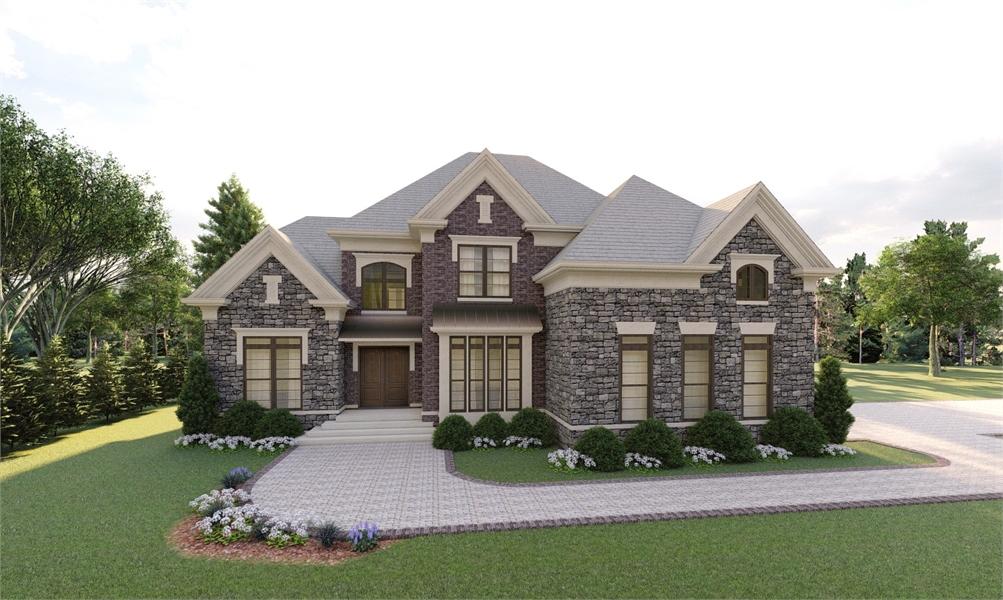 House Plan THD-4217