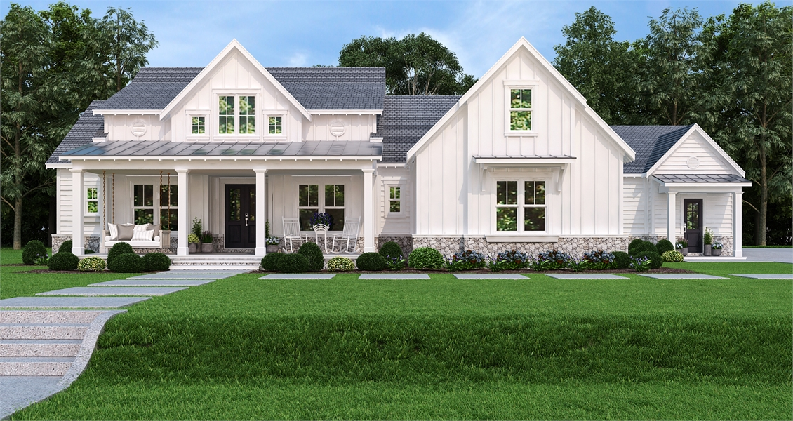 farmhouse style house updated farmhouse style house plan 7382 pinecone trail 4448
