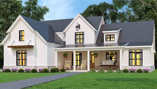 image of Blueberry Ranch House Plan