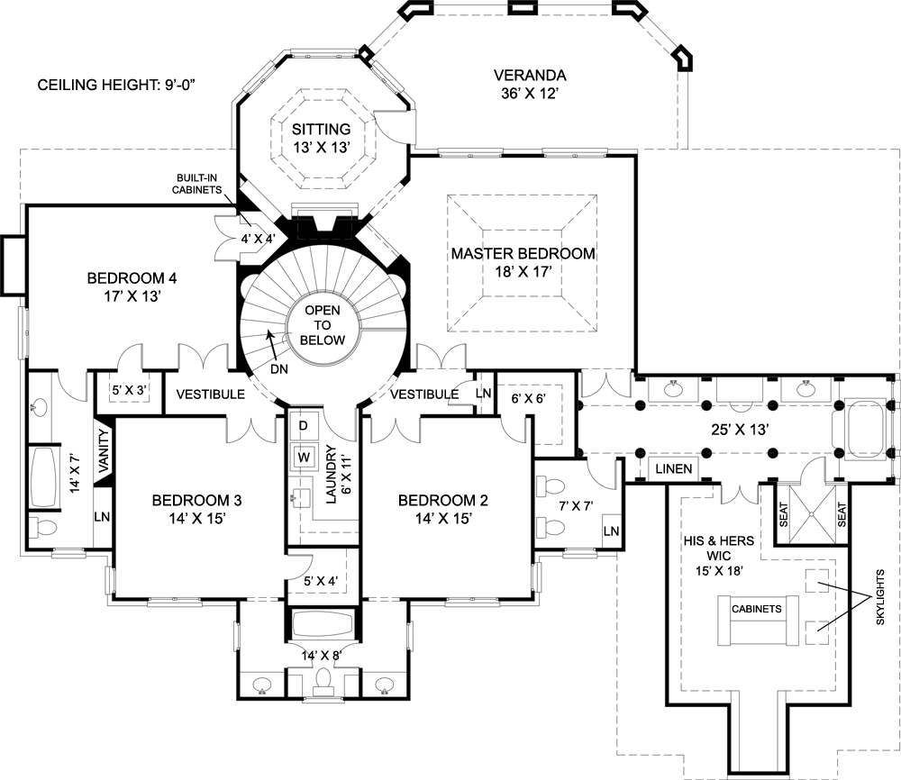 house plans for mansions chiswick house 7939 4 bedrooms and 3 baths the house - Mansion House Plans