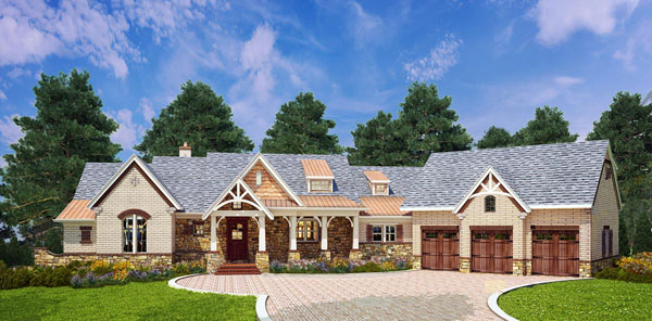 Craftsman Style House Plan 9459 Mary Mount