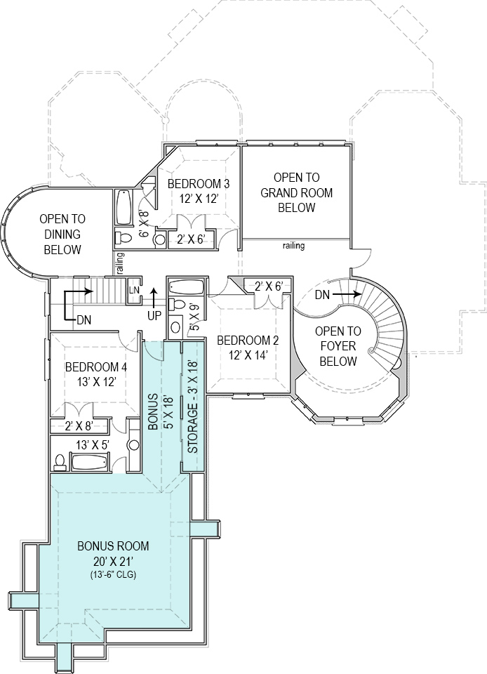courtyard house plan hennessey house courtyard 8093 4 bedrooms and 4 baths the house designers 2833