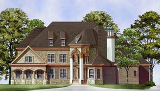 Two Story House Plans Small 2 Story Designs By Thd