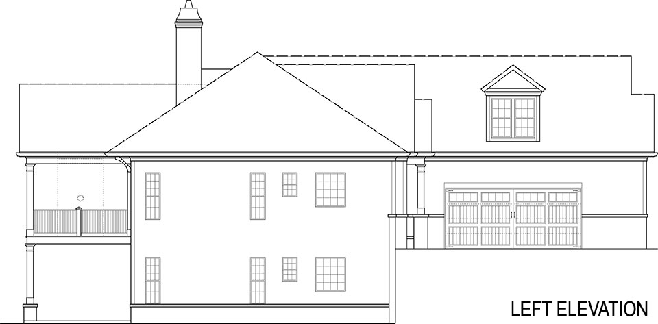 craftsman ranch house plan on