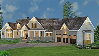 In law suite plans larger house designs floorplans by thd for Home plans with detached in law suite