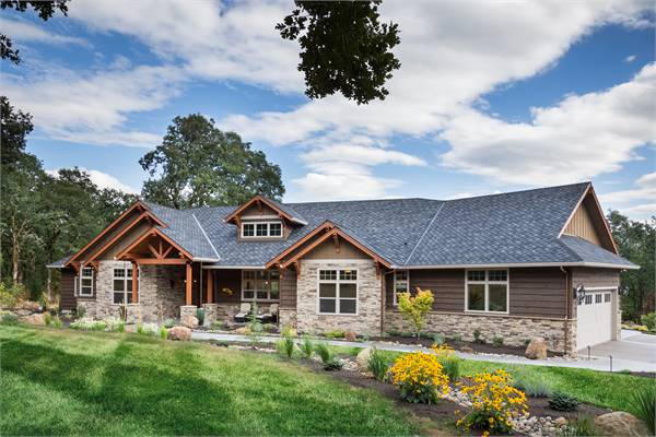 Large Open Concept Craftsman