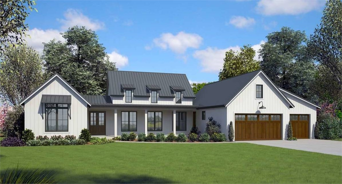 5505_front_rendering_8701 Home Farm House Plans With Front Porch on craftsman house plans with front porch, farm house porches, cape cod house plans with front porch, country porch, farm house building plans, narrow lot house plans with front porch,