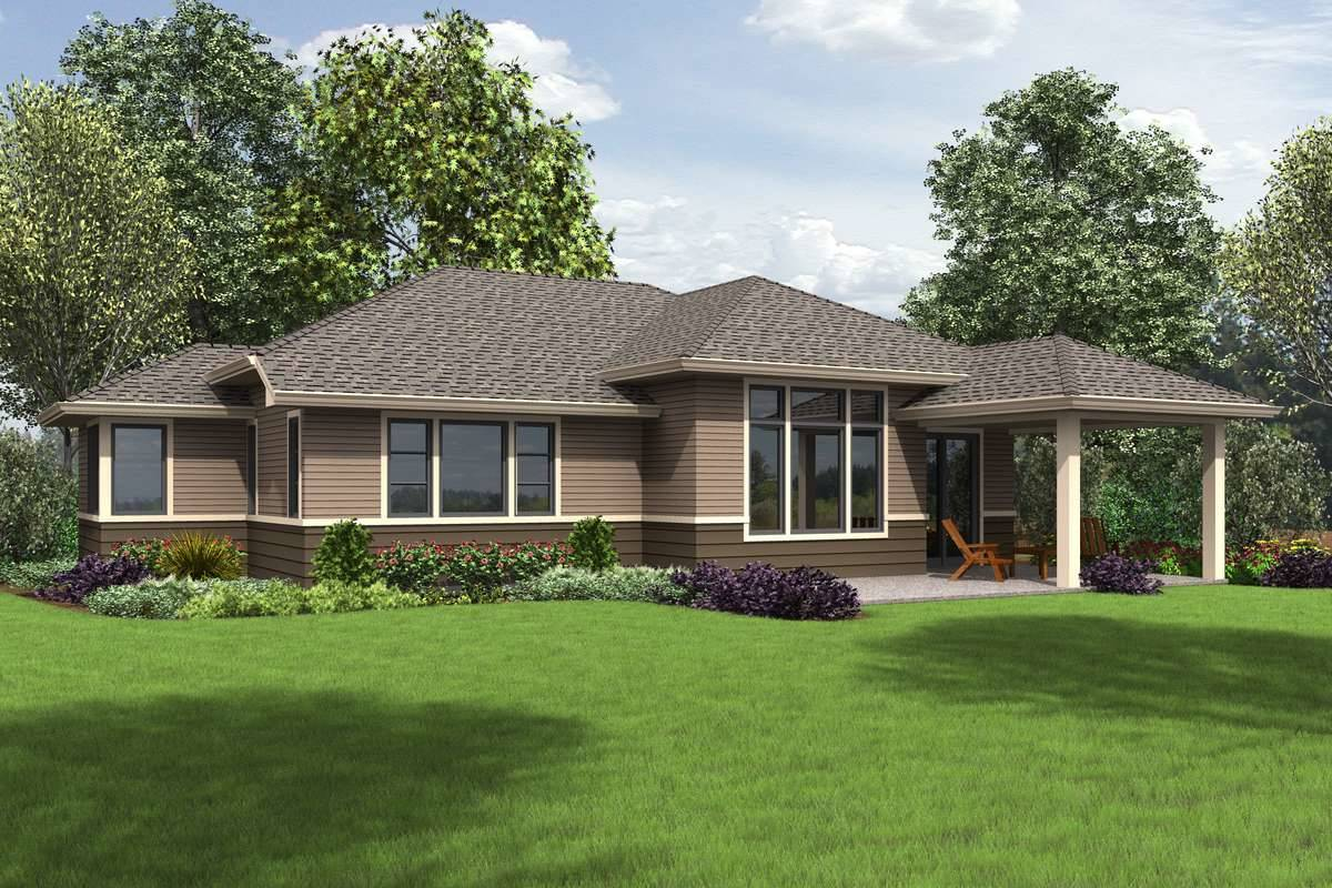 Plan 1713 - Rear Rendering