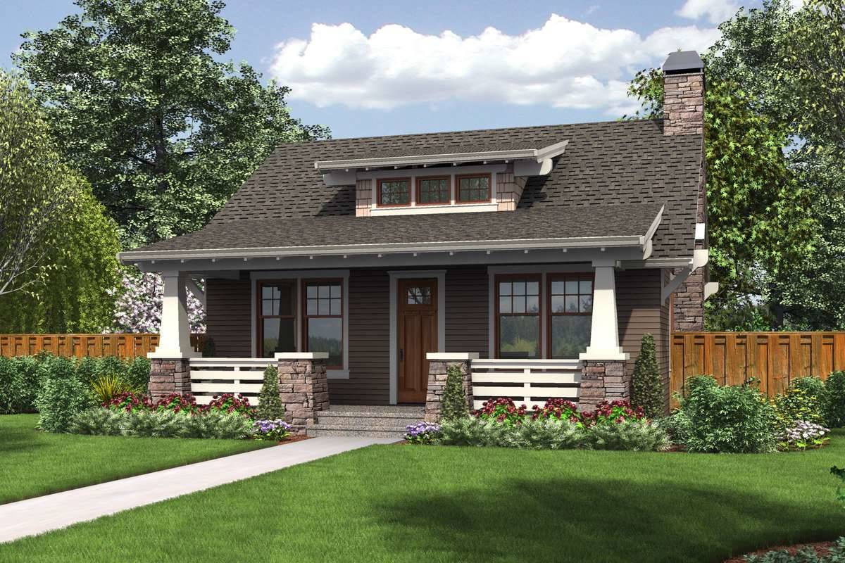 Craftsman Style House Plan 1759 Whitset