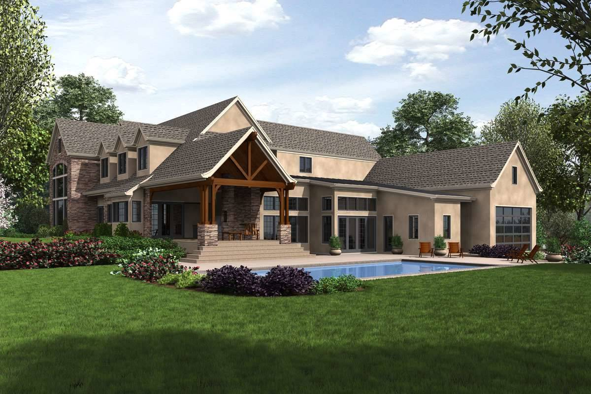 Plan 1762 - Rear Rendering