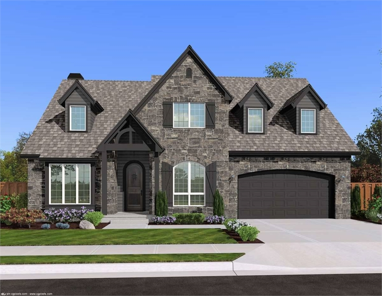 Plan 2589 - Front Exterior