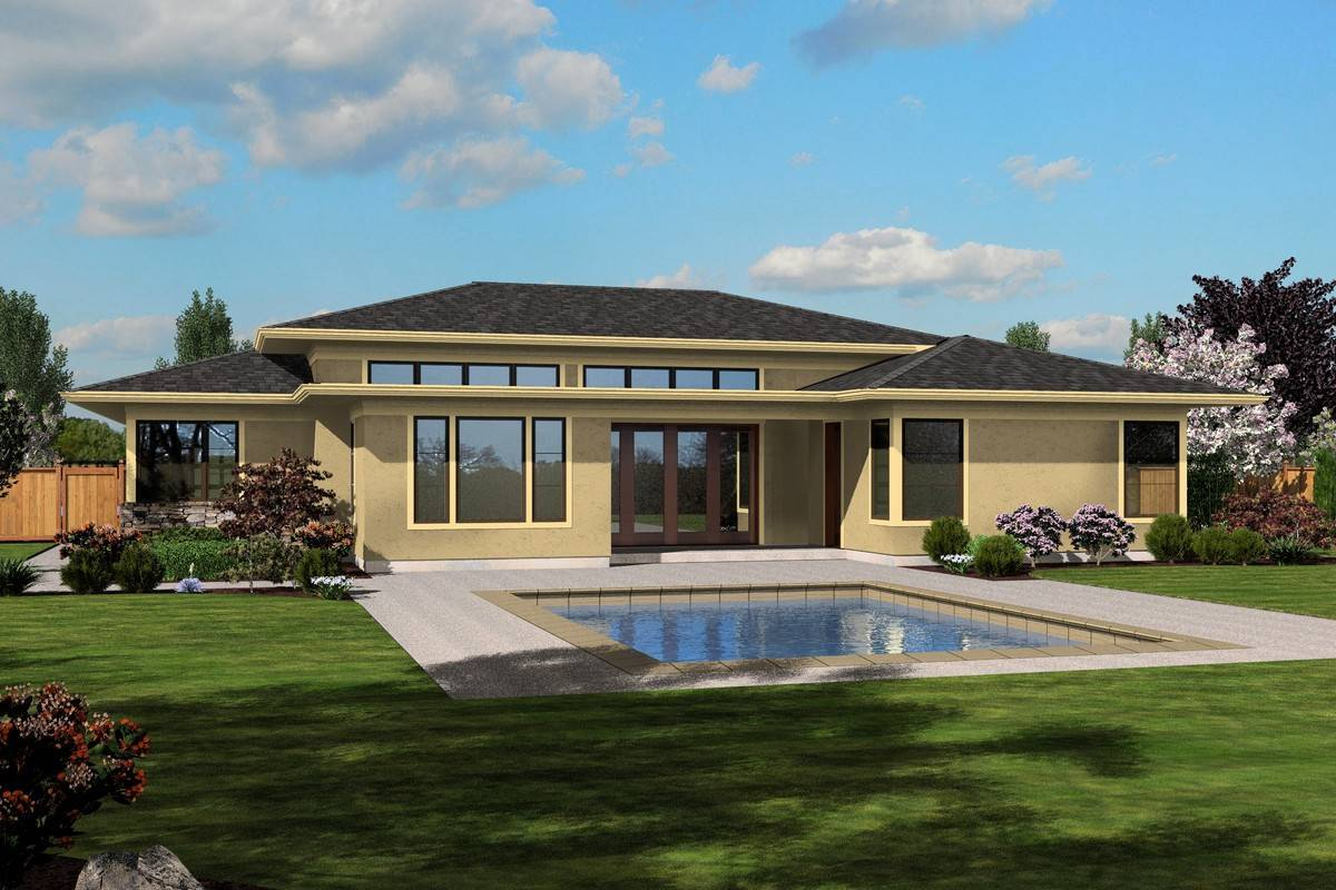 3058 South Hadley  Rear Rendering