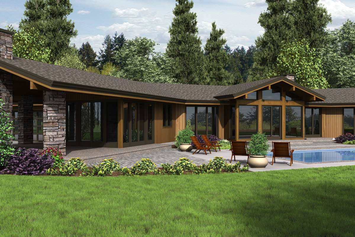 Plan 4292 - Rear Rendering