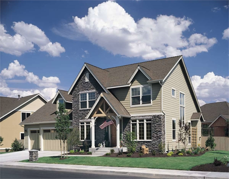 Plan 4606 - Front Exterior