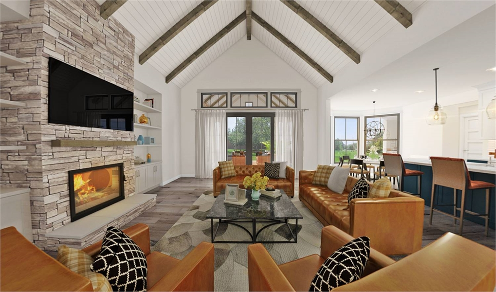 Plan 4677 - Great Room