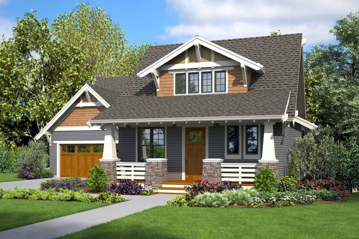 Affordable craftsman house plan