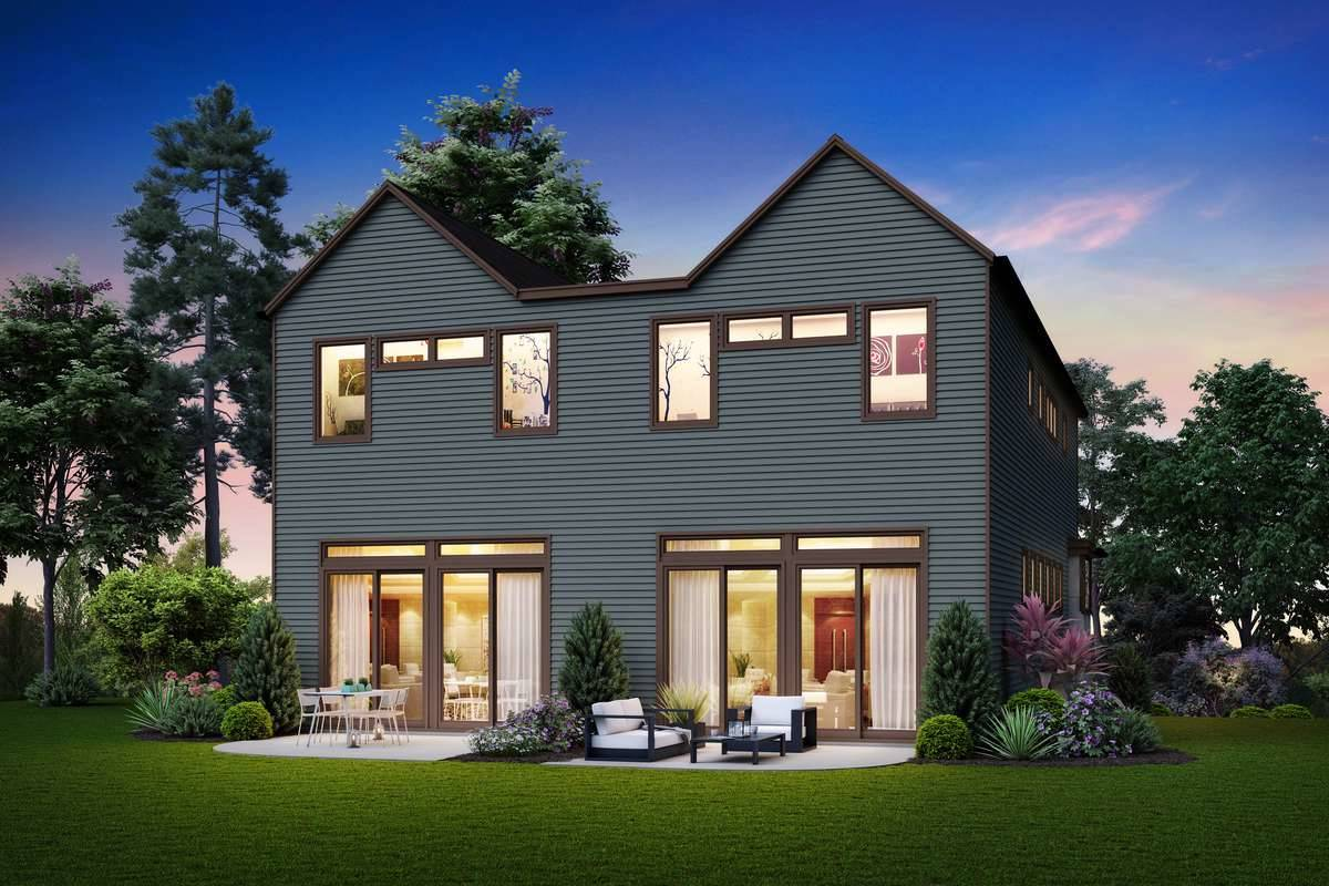 Plan 4688 - Rear Rendering