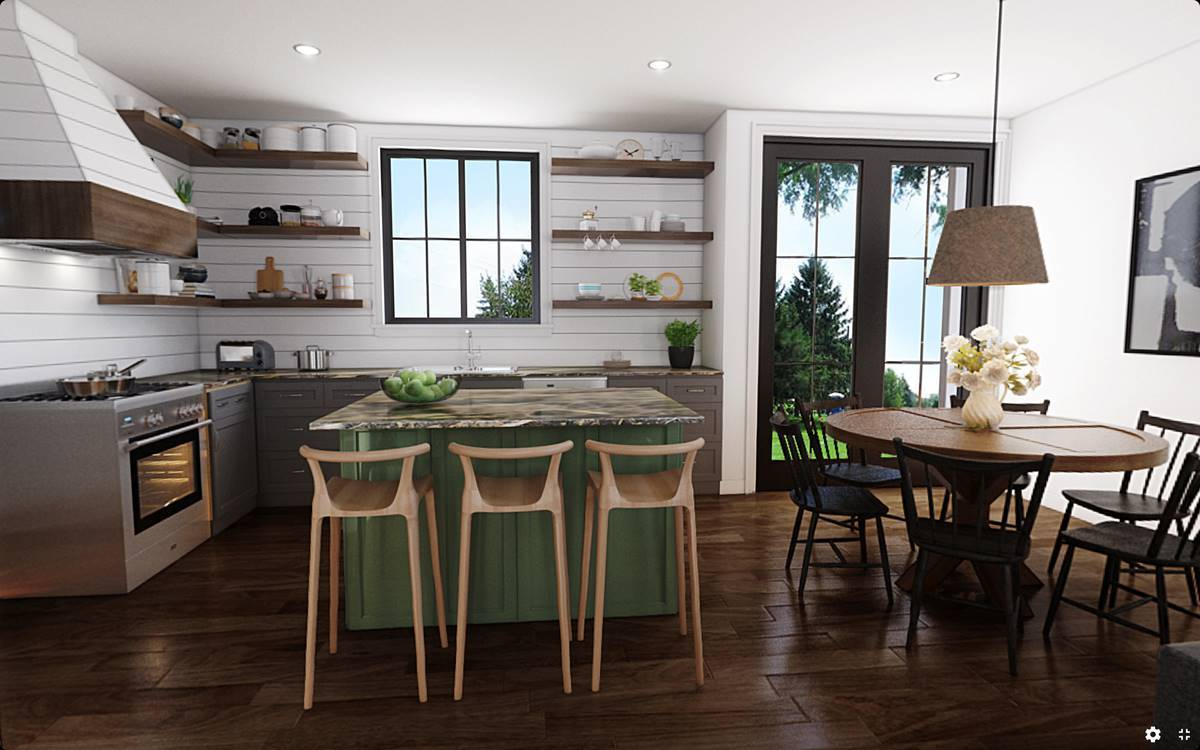 Plan 4743 - Kitchen