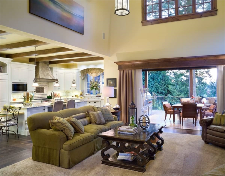 Plan 4912 - Great Room