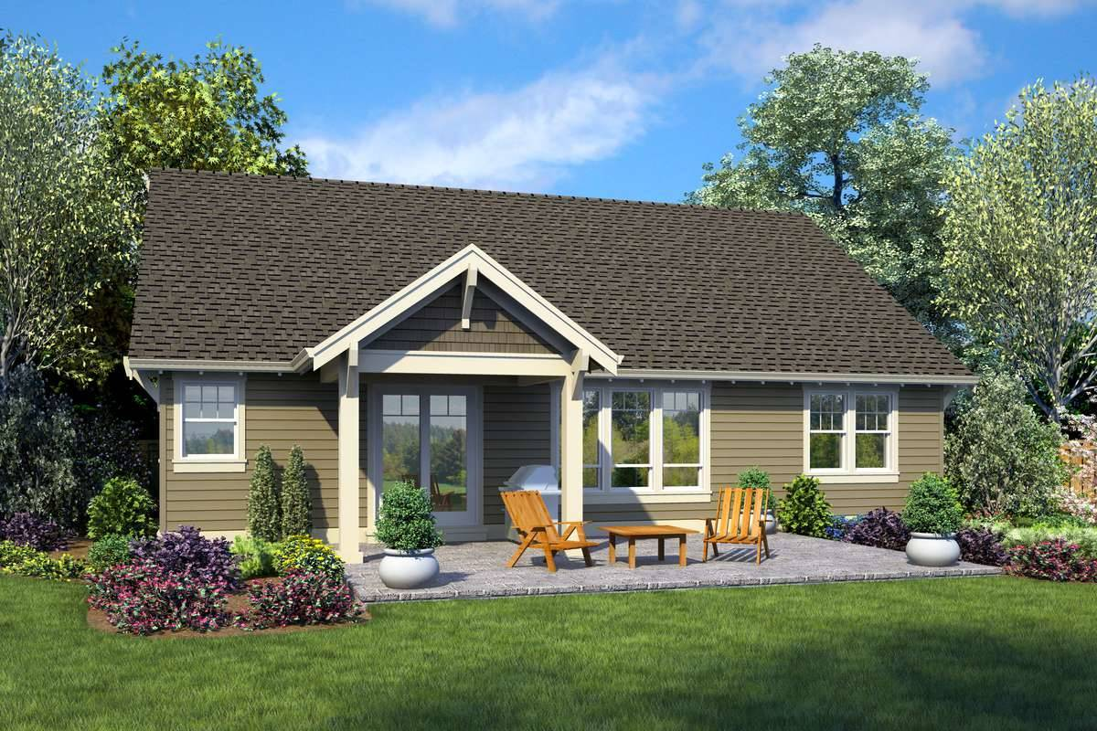 Plan 4971 - Rear Rendering