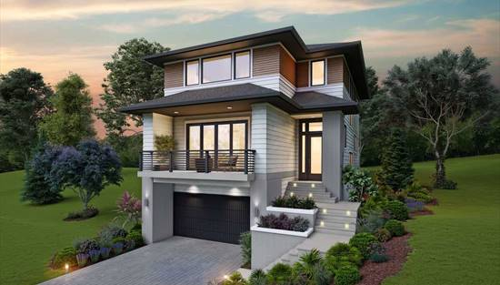 Drive Under House Plans Ranch Style Garage Home Design Thd