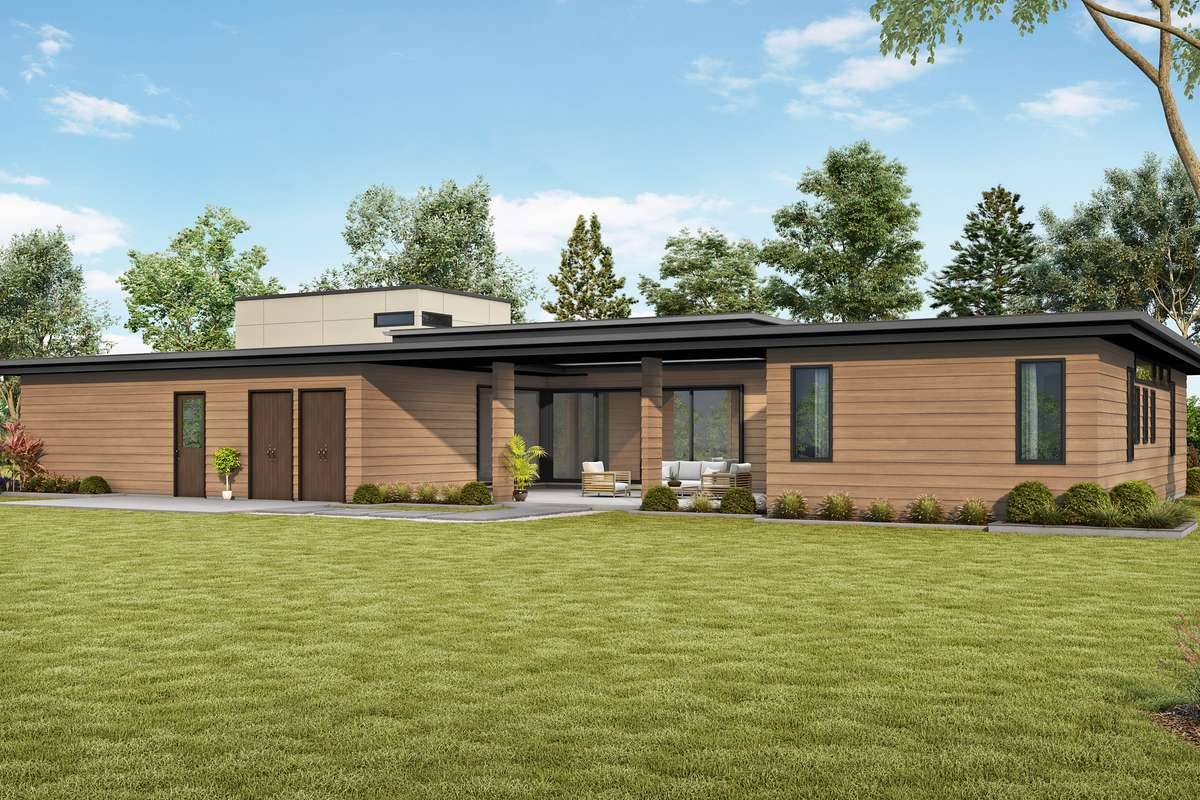 Plan 5354 - Rear Rendering