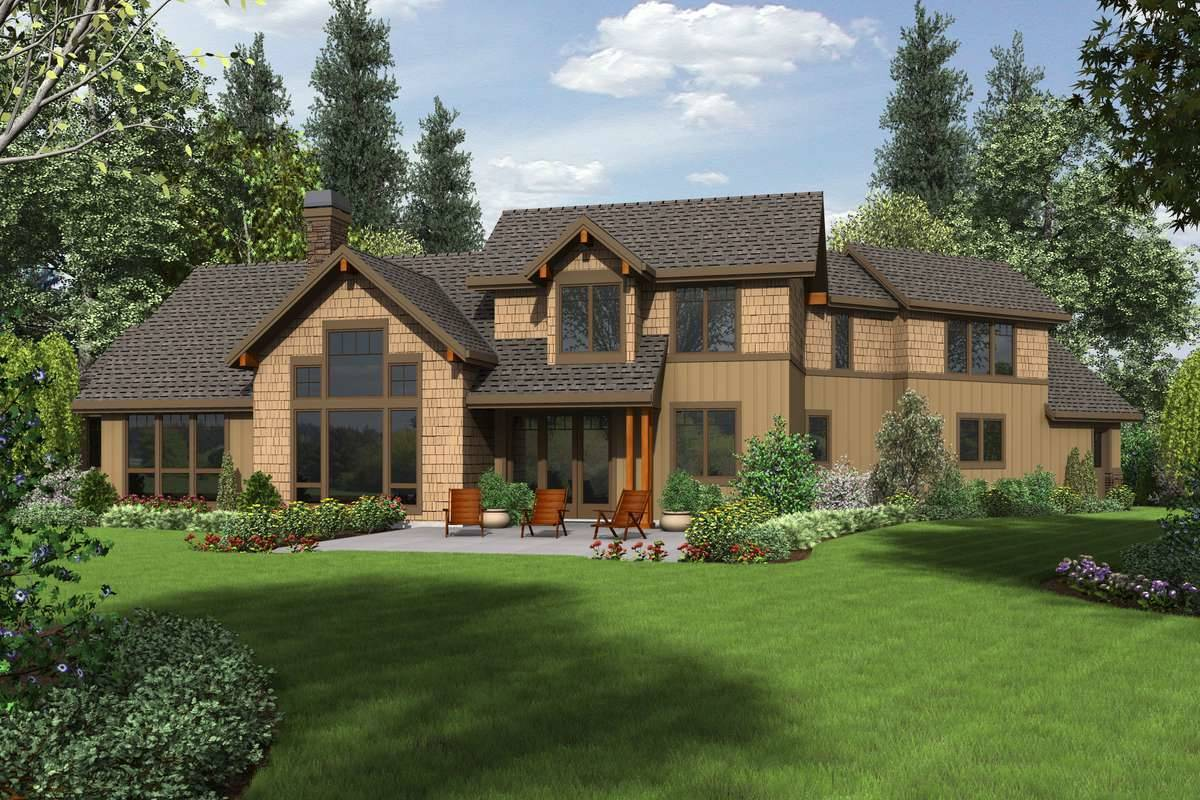 Plan 5483 - Rear Rendering