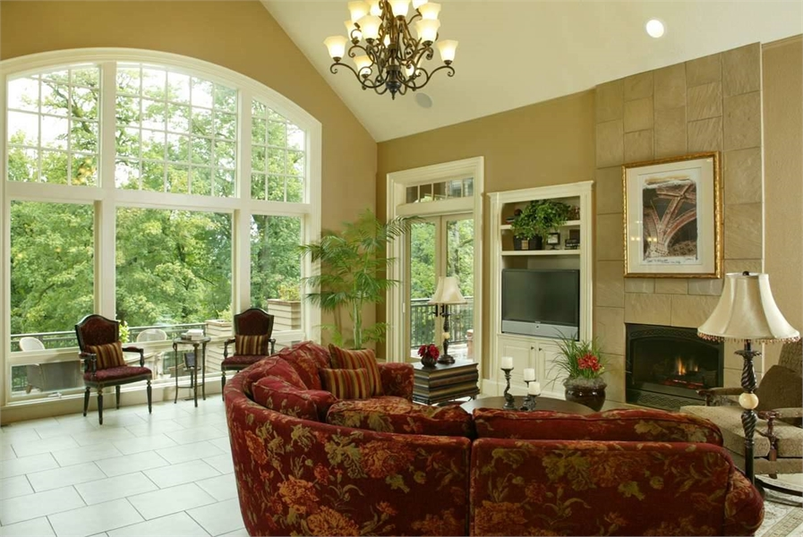 Plan 5547 - Great Room