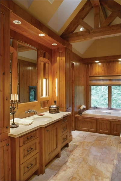 Plan 5555 - Master Bathroom