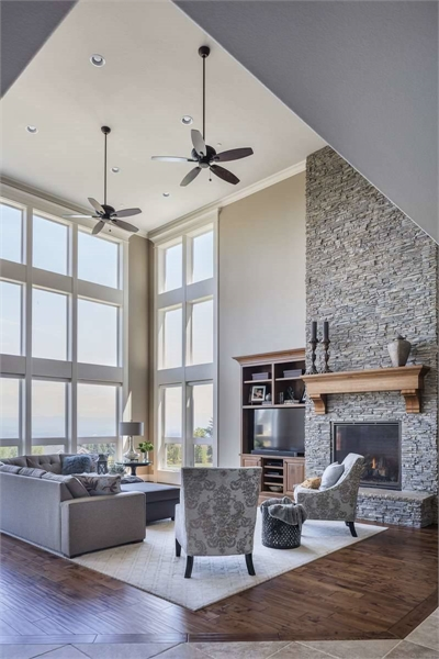 Plan 5581 - Great Room