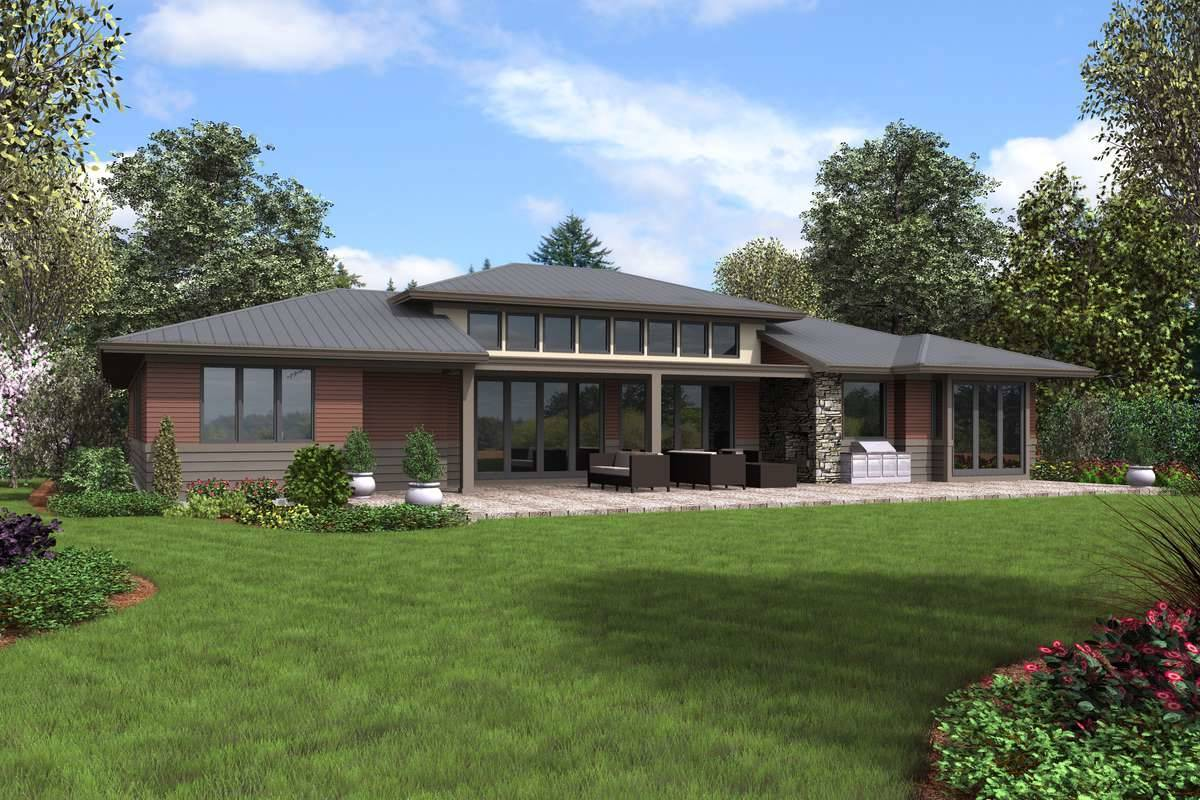 Plan 5583 - Rear Rendering