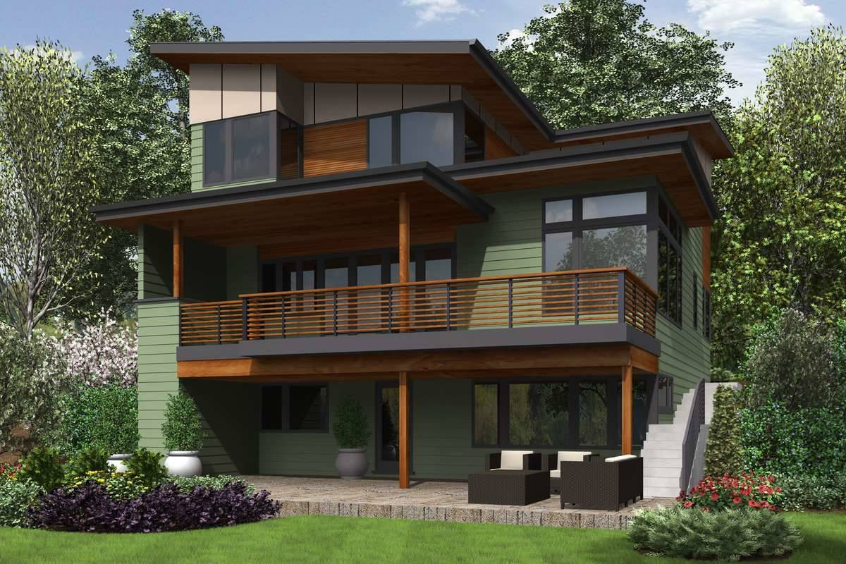 Plan 5586 - Rear Rendering