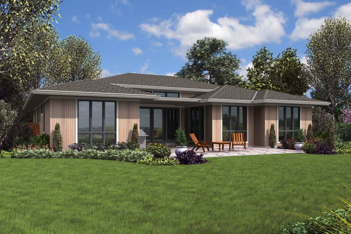 Plan 5591 - Rear Rendering