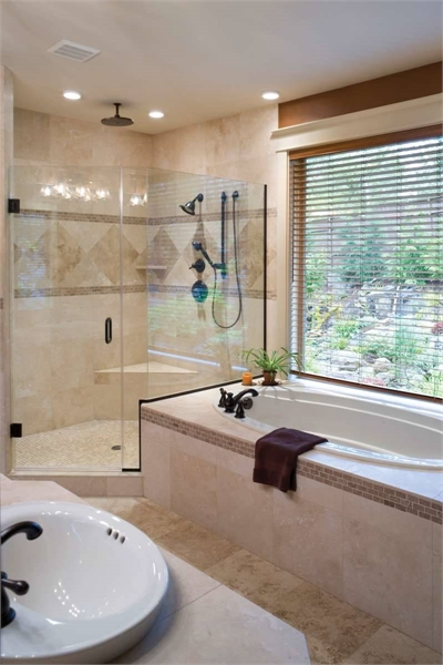 Plan 5902 - Master Bathroom