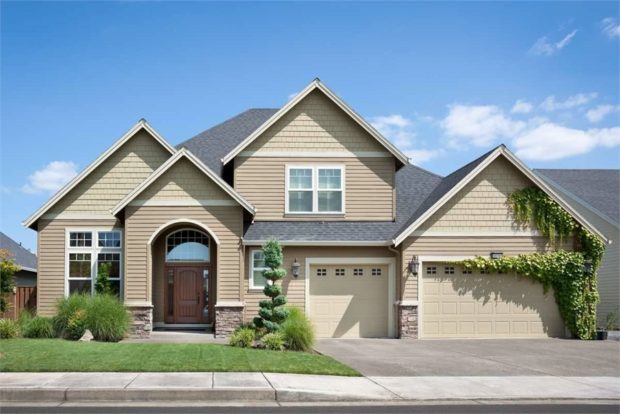 Plan 5943 - Front Exterior