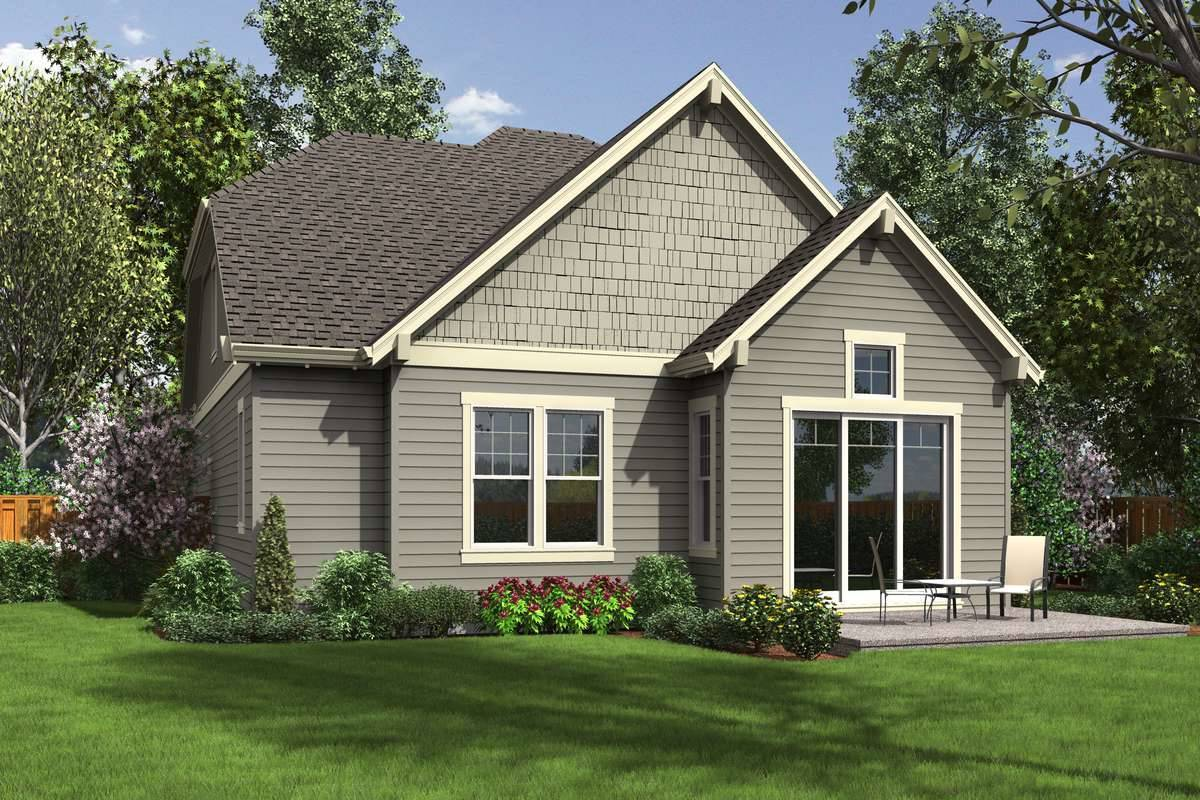 Plan 6063 - Rear Rendering