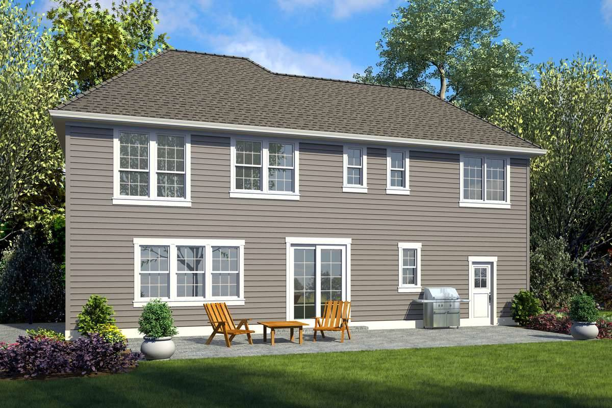 Plan 7212 - Rear Rendering