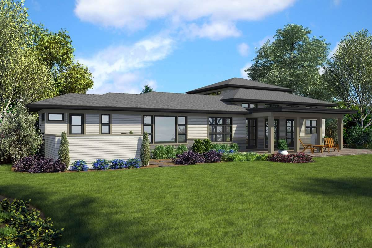 Plan 7233 - Rear Rendering