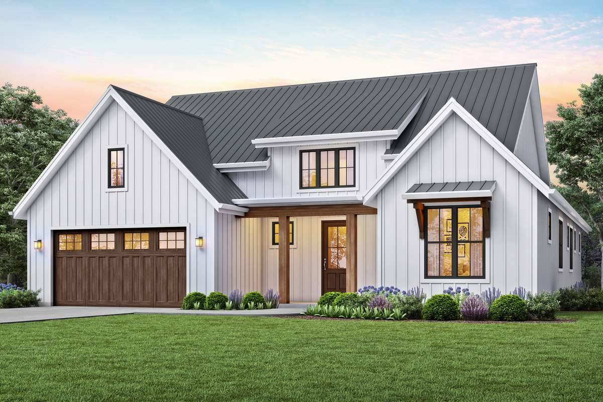Beautiful Country Style House Plan 7234 Bonaire