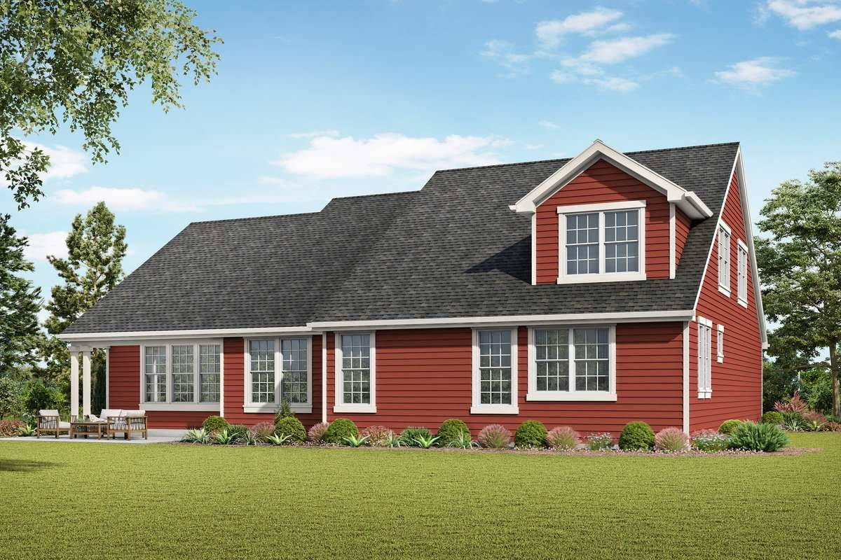 Plan 7240 - Rear Rendering