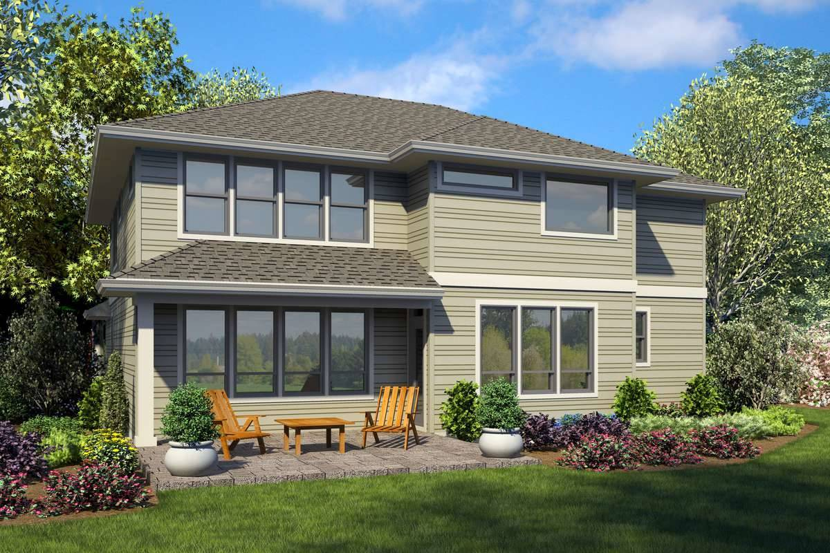 Plan 7247 - Rear Rendering