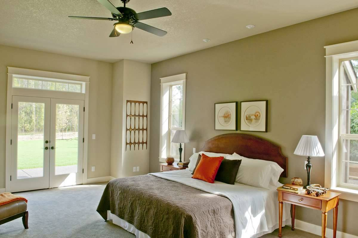Plan 8290 - Master Bedroom