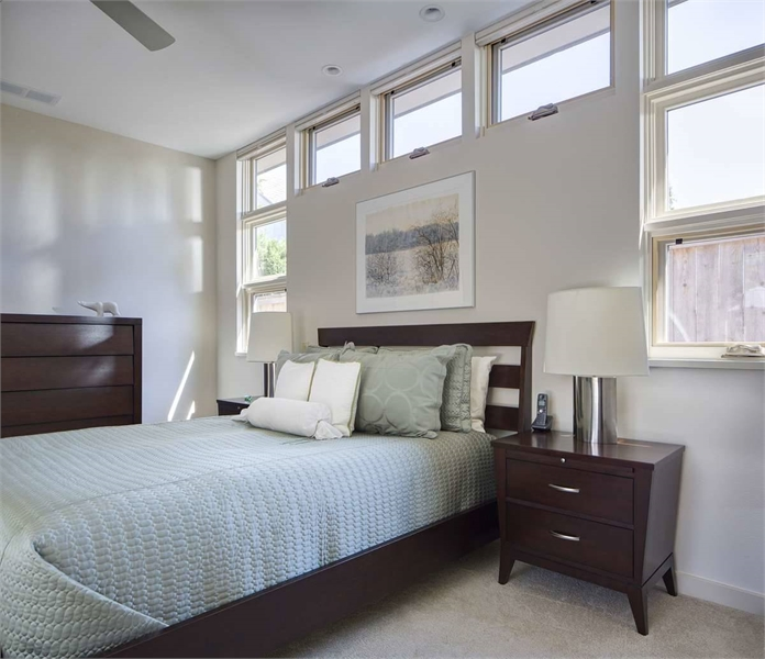 Plan 8301 - Master Bedroom