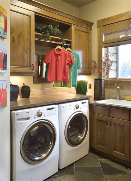 Plan 8320 - Laundry Room