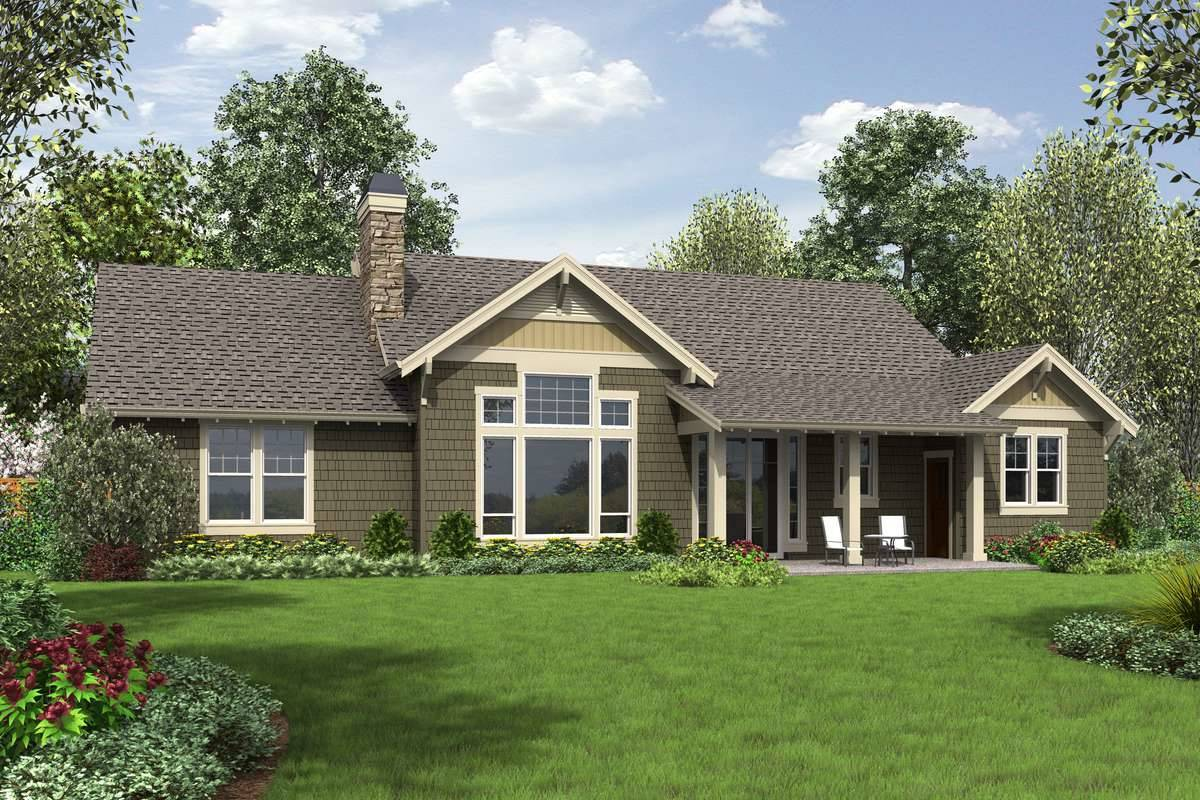 Plan 9458 - Rear Rendering