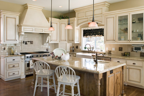 This house plan features a great kitchen design.