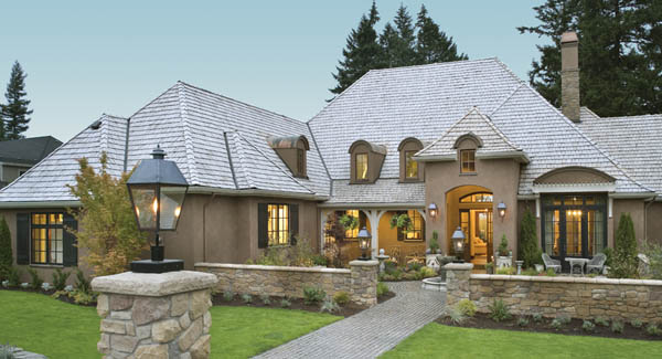 Country French House Plans & Euro Style Home Designs by THD on small french style homes, small french country kitchens, small french country house exteriors, farm country cottage design plan,