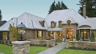 image of wayne house plan - French Country Ranch House Plans